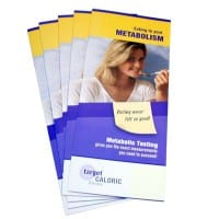 "Brochure ""Eat To Your Metabolism"" (pack of 50)"