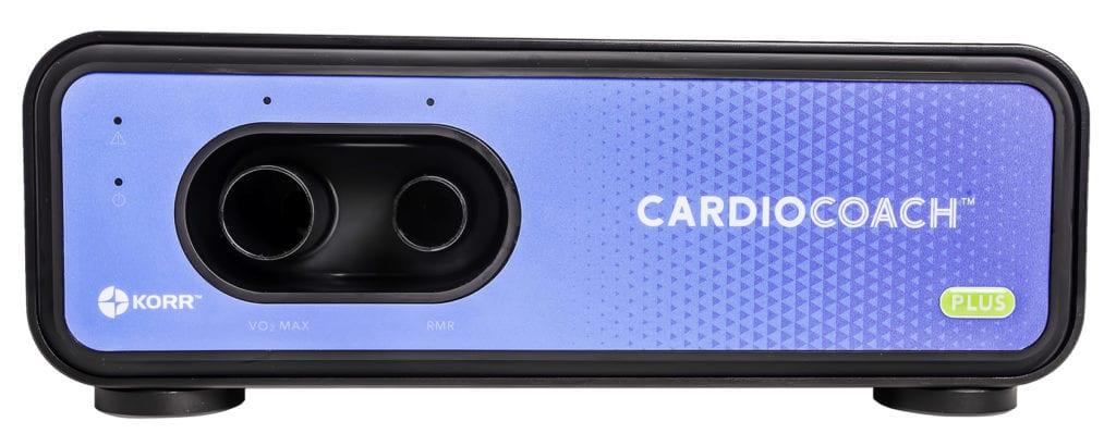 blue cardio coach machine