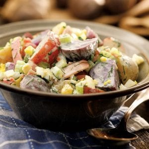 country potato salad recipe