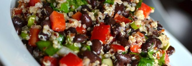 Superfood Black Bean and Quinoa Salad