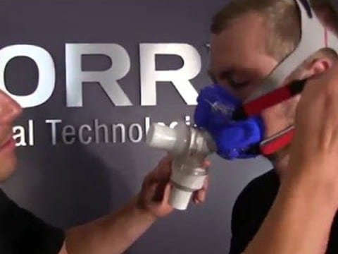 CardioCoach, Fitting A VO2 Mask
